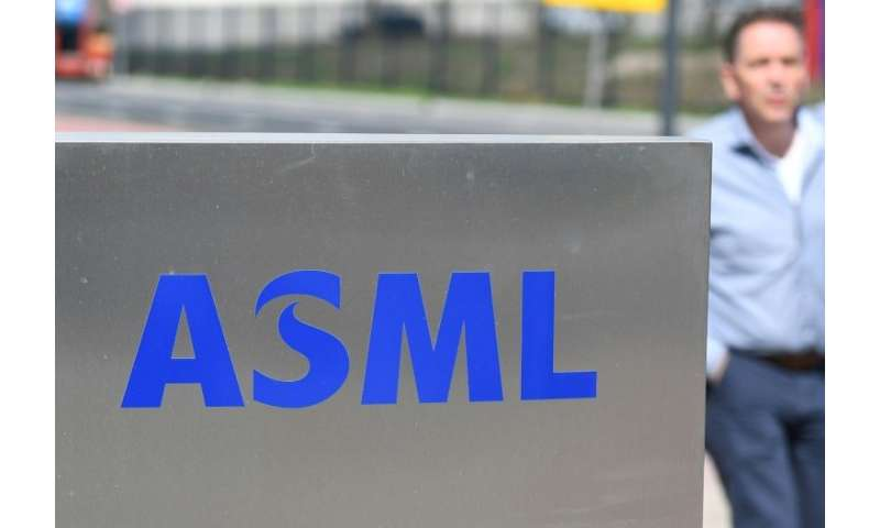 ASML is considered a bellwether of the global high-tech industry