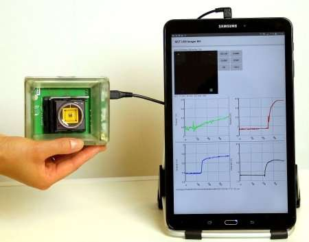 A Star Trek-inspired handheld device based on a silicon chip could help make rapid, sophisticated medical diagnosti
