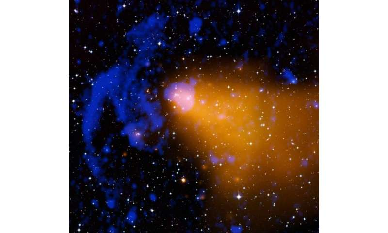Astronomers study the merging galaxy cluster Abell 3376 and its radio relics