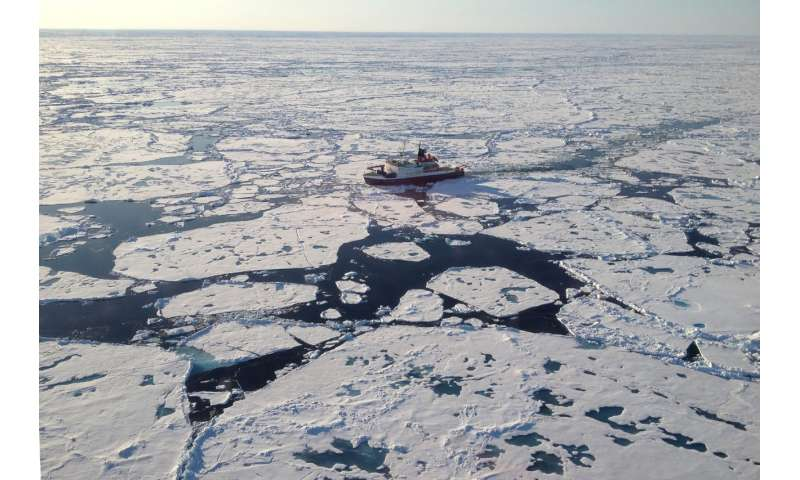AWI researchers measure a record concentration of microplastic in Arctic sea ice