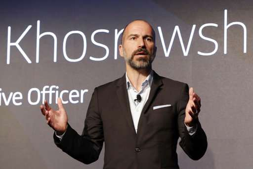 A Year In Uber Ceo Works To Rebuild Company S Reputation