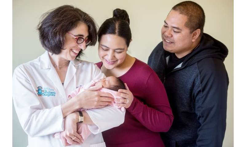 Baby born in world's first in utero stem cell transplant trial