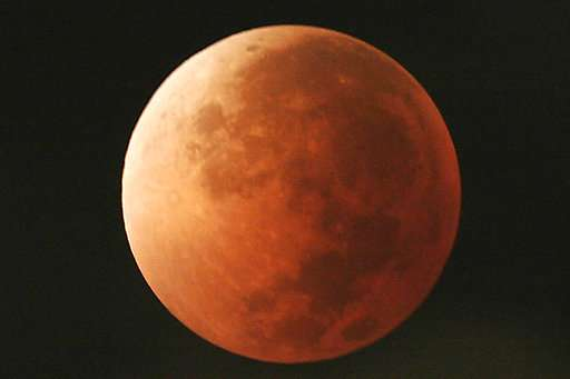 Blue moon, supermoon, total lunar eclipse rolled into one (Update)