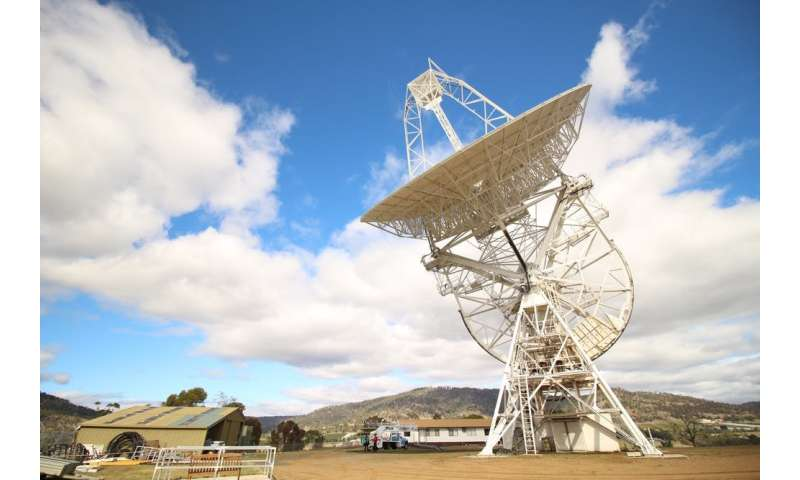 Captured! Radio telescope records a rare 'glitch' in a pulsar's regular pulsing beat