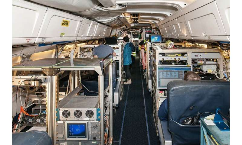 Chemical composition of aircraft exhaust aerosols investigated