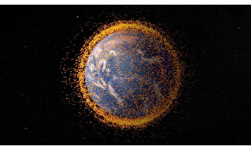 China has a plan to clean up space junk with lasers