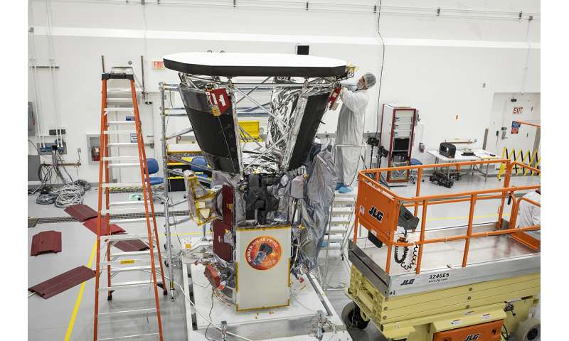 Cutting-edge heat shield installed on NASA's Parker Solar Probe