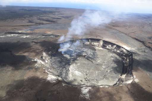 Dozens of quakes rattle Hawaii volcano, eruption possible