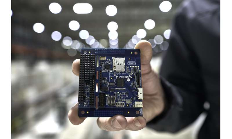 ESA team blasts Intel's new AI chip with radiation at CERN