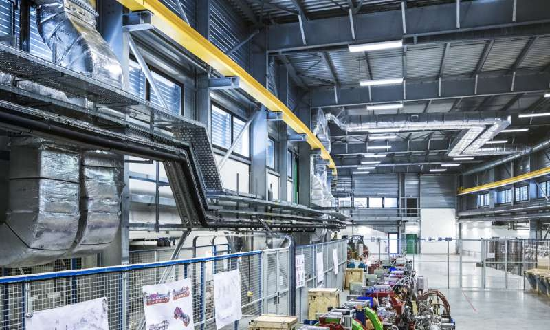 ESRF puts its shining light in standby mode, to return brighter in 2020