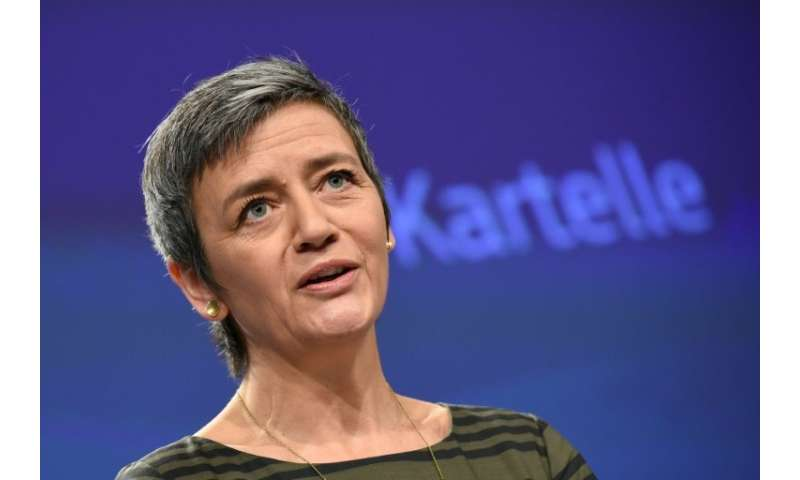 EU competition commissioner Margrethe Vestager is expected to say Google abused its dominant market position and to impose a mul