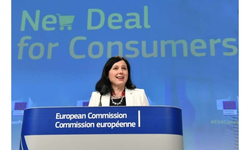 """European commissioner for consumers Vera Jourova said authorities """"will finally get teeth to punish the cheaters""""."""