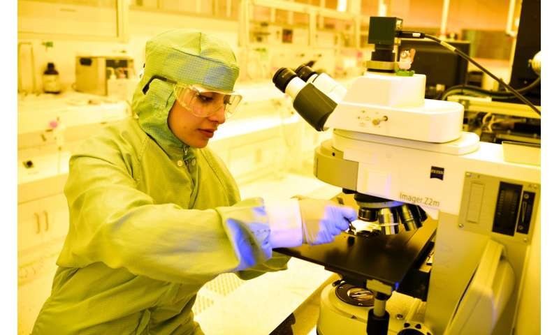 European partners build efficient pilot production line for photonic chips