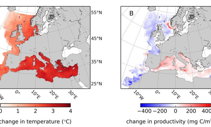 Europe must sea food in a new way thanks to warming waters