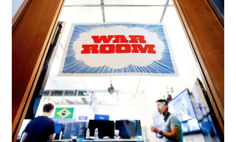 "Facebook, which has launched a ""War Room"" to guard against US election interference, says it will provide regular repo"