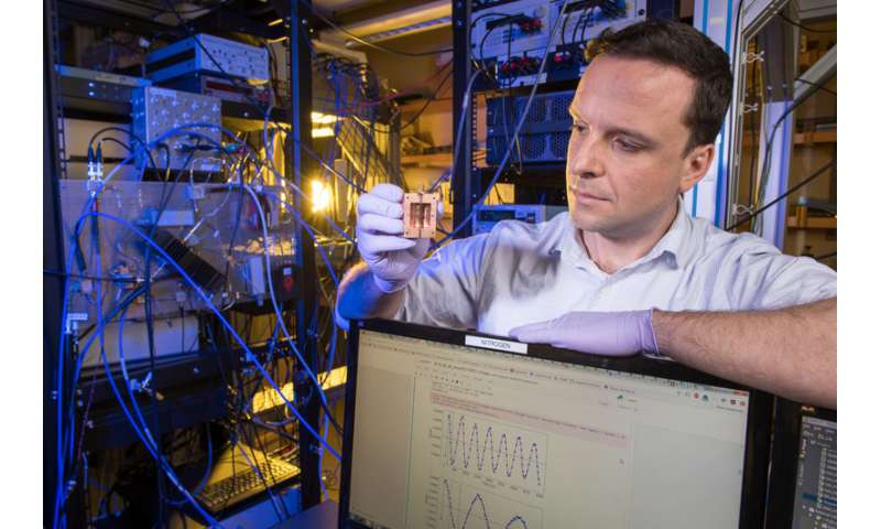 Fermilab scientists to look for dark matter using quantum technology