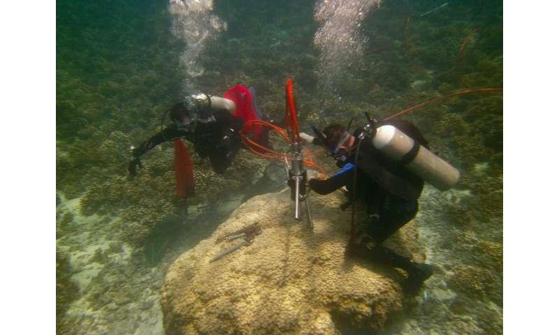 Getting warmer—understanding threats to ocean health