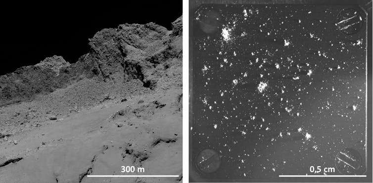How comet dust reveals the history of the solar system