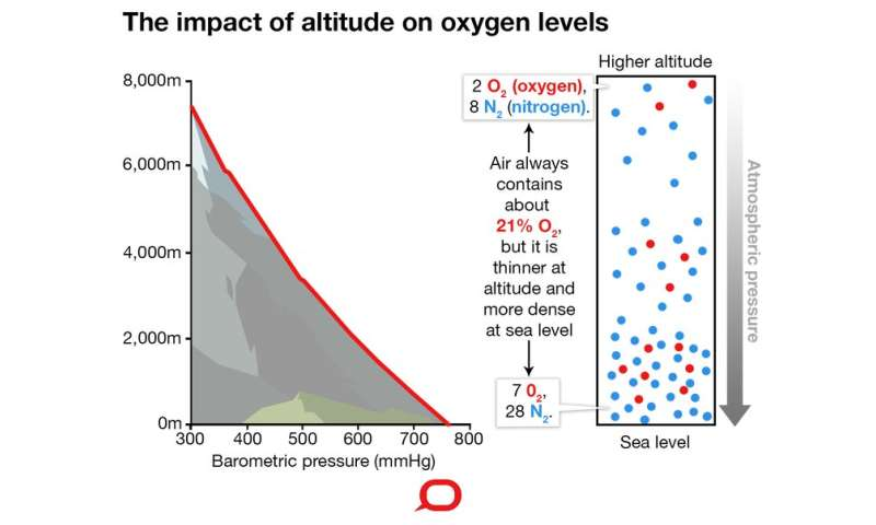 How does altitude affect the body and why does it affect people differently?