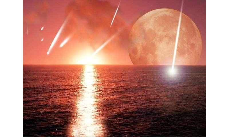 Combien de lunes terrestres sont retombées sur la planète?