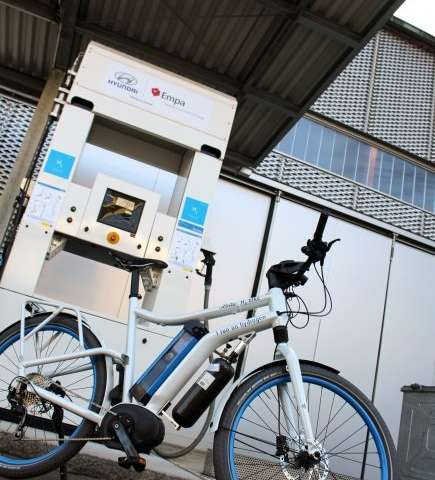 Hydrogen as a pedalling aid