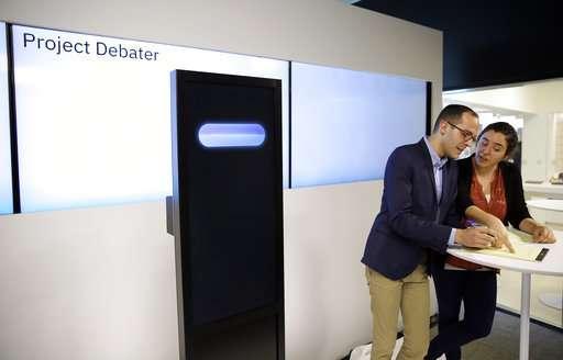IBM pits computer against human debaters