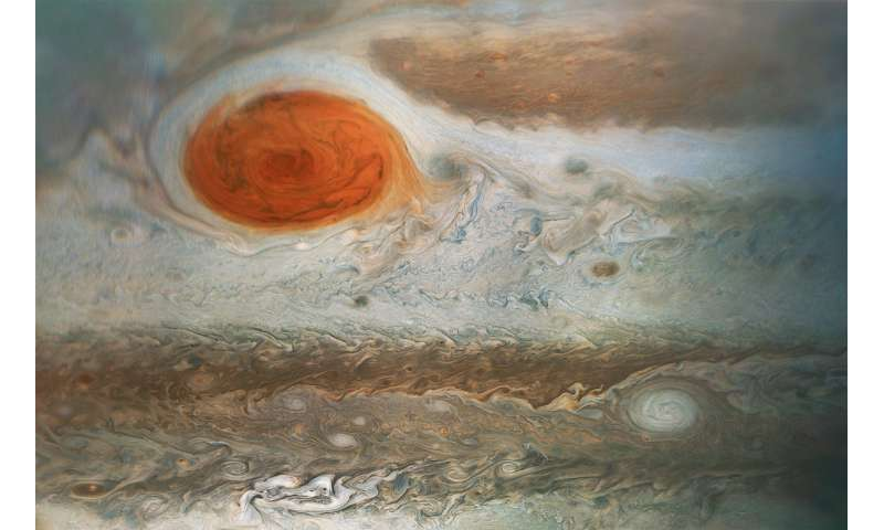 Image: Jupiter's Great Red Spot, spotted