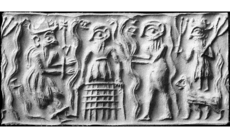 In ancient Mesopotamia, sex among the gods shook heaven and earth