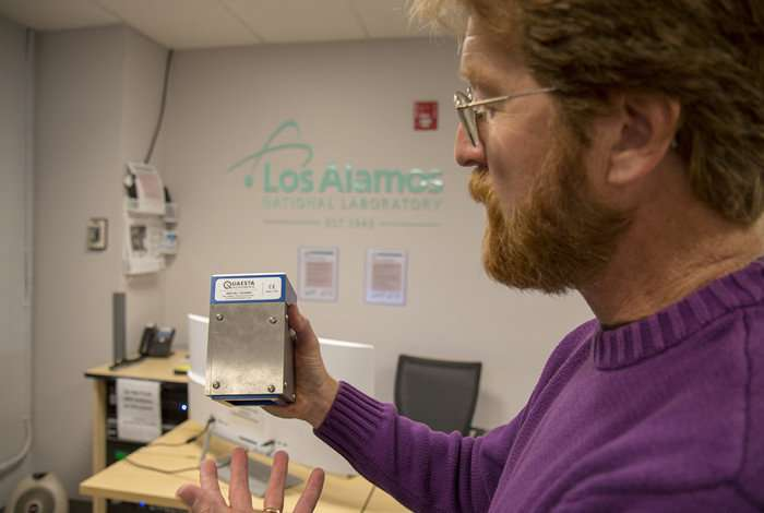 Innovative detectors quickly pinpoint radiation source