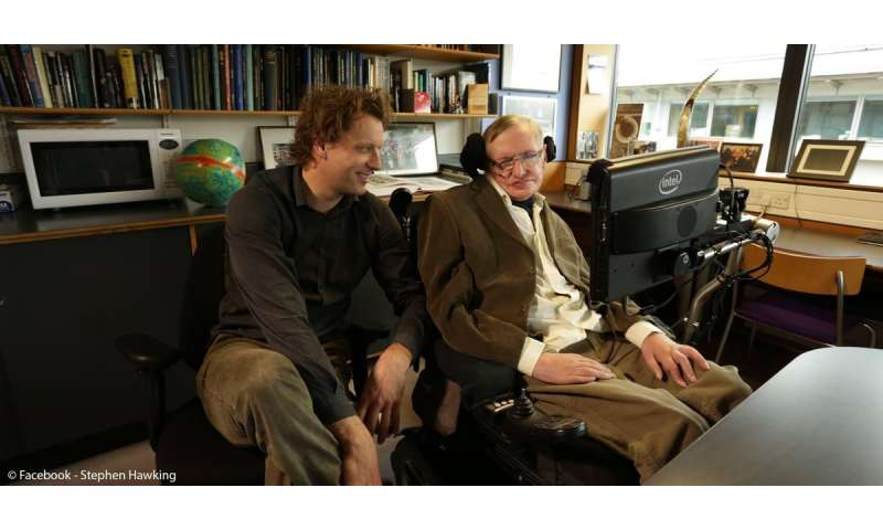 'I opened a bottle with Stephen Hawking to celebrate our eureka moment' – Prof. Thomas Hertog