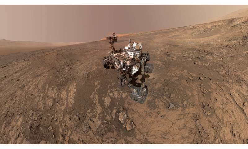 Iron-rich minerals on Mars could contain life's fatty acids