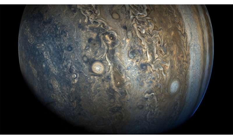 Jupiter had growth disorders