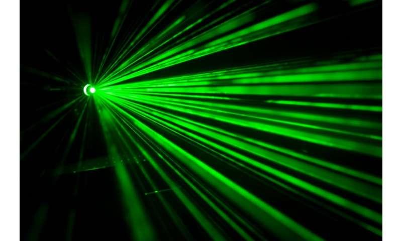 laser ray