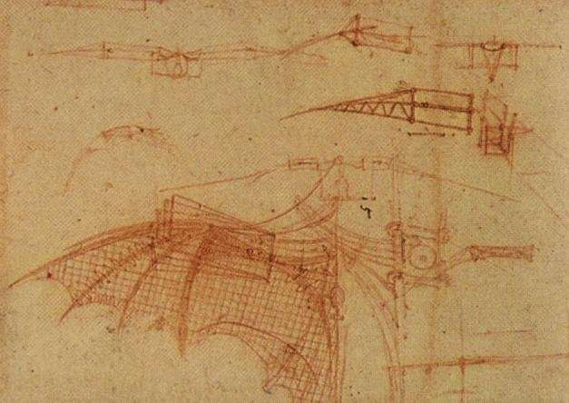 Leonardo da Vinci's take on dynamic soaring