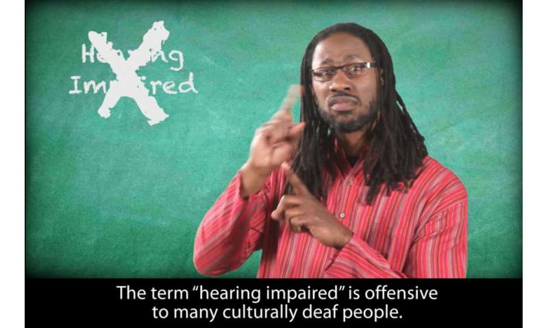 Linguistic expertise key to improving Deaf health research