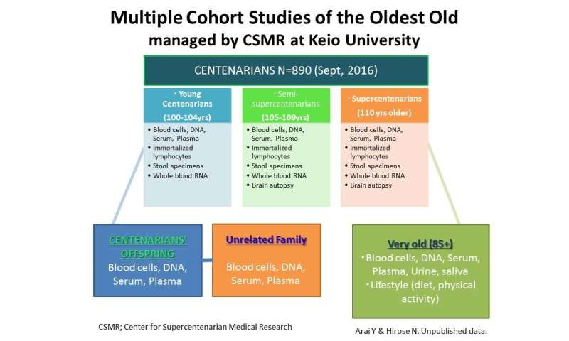 Longevity insights from demographic, phenotypic and genetic studies
