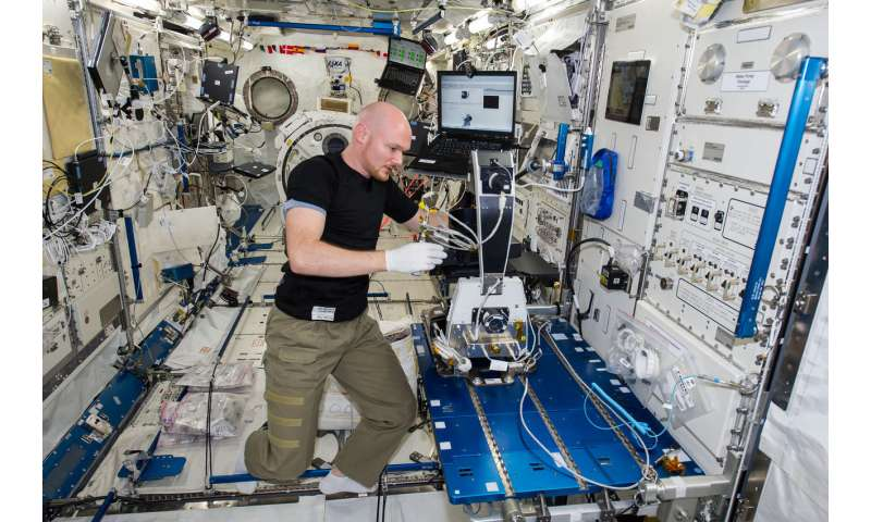 Machine intelligence on the ISS