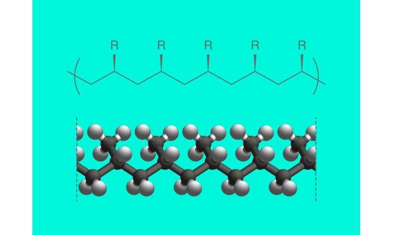 Macromolecular order in plastic kingdom