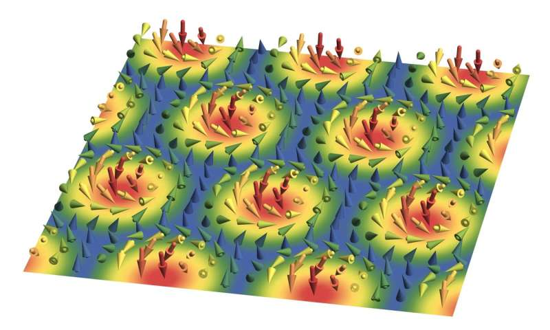 Magnetic vortices: Two independent magnetic skyrmion phases discovered in a single material