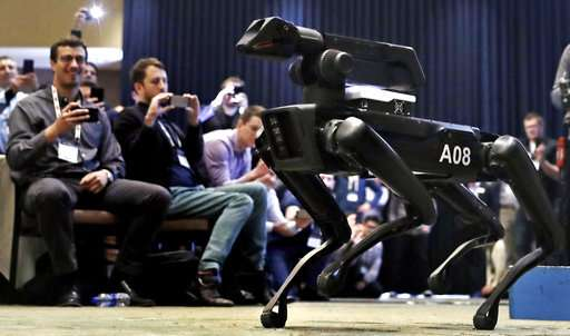Maker of fearsome animal robots slowly emerges from stealth