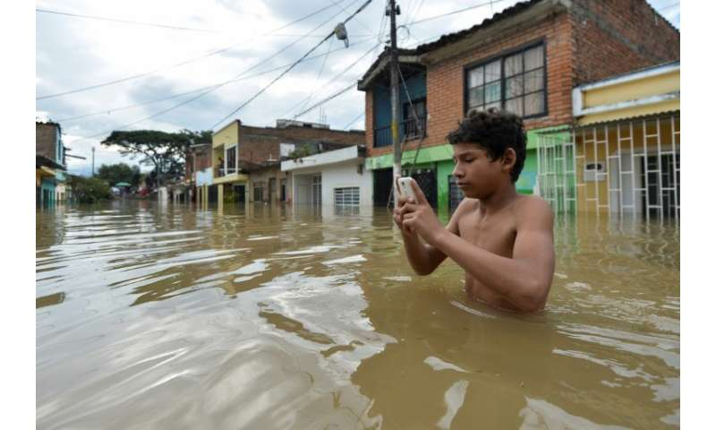 Mobile phones can be used to pin point where aid is most needed after natural disasters