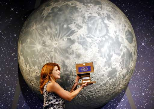 Moon rock hunter searching for states' final missing stones