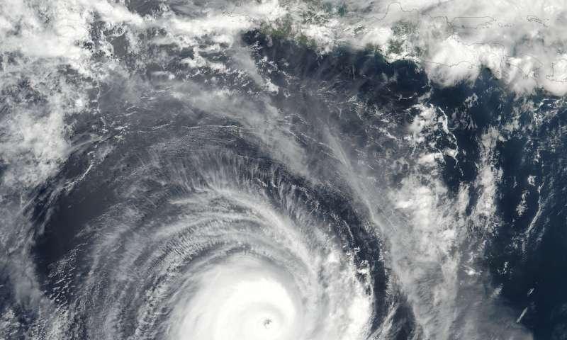 NASA eyes powerful Tropical Cyclone Marcus