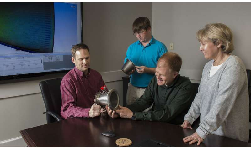 NASA marshall advances 3-D printed rocket engine nozzle technology