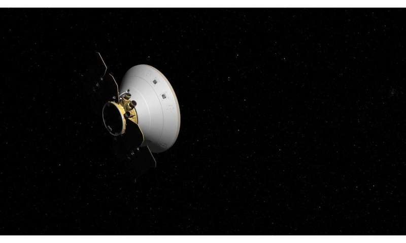NASA's InSight passes halfway to Mars, instruments check in