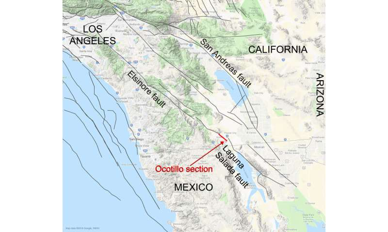 NASA study connects Southern California, Mexico faults