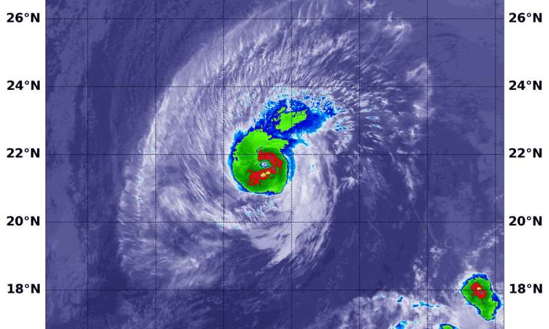 NASA tracking Hurricane Olivia's track toward Hawaii