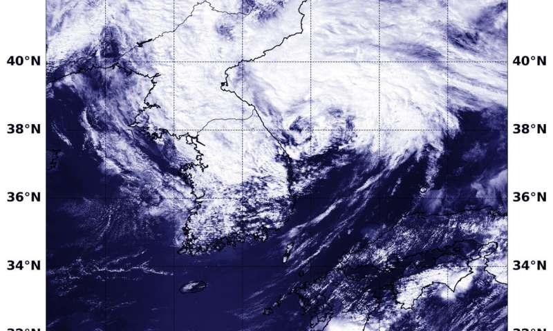 NASA tracks tropical storm Soulik into the Sea of Japan
