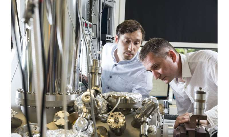 Nature: Tricky feat with stand-up molecule