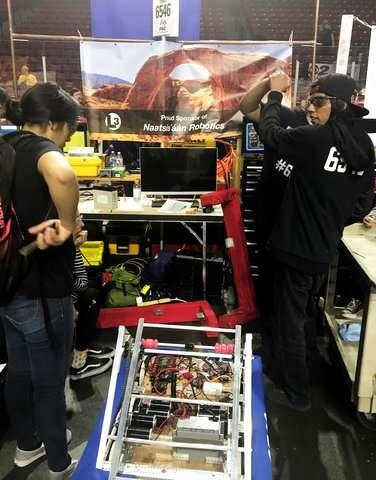 Navajo robotics team heads to international competition